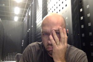 Brian in the Data Center